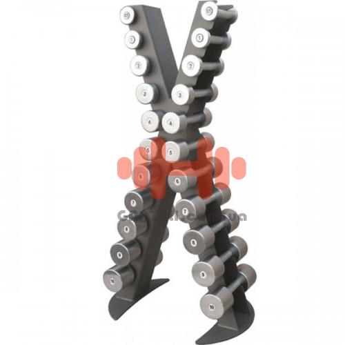 Стойка под гантели (0,5 - 10 кг) InterAtletika Xline ReStyle, код: X410R