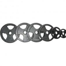 Комплект дисков Newt 105 кг (чугун D=50 мм), код: TI-N-XX