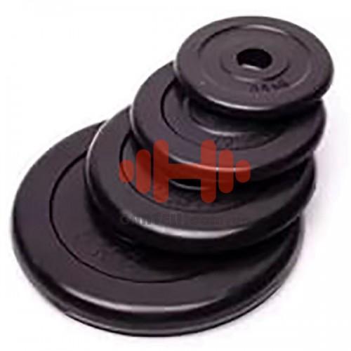 Комплект дисков Alex 68 кг (обрезиненный D=25 мм), код: RCP10