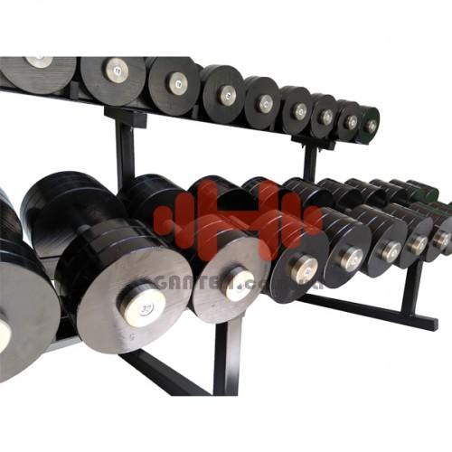 Гантельный ряд CrossGym 10-20 кг, код: SG10-20