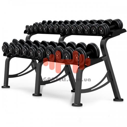 Гантельный ряд Marbo-Sport 6 пар (10-20 кг.), art: MP-SH4-26