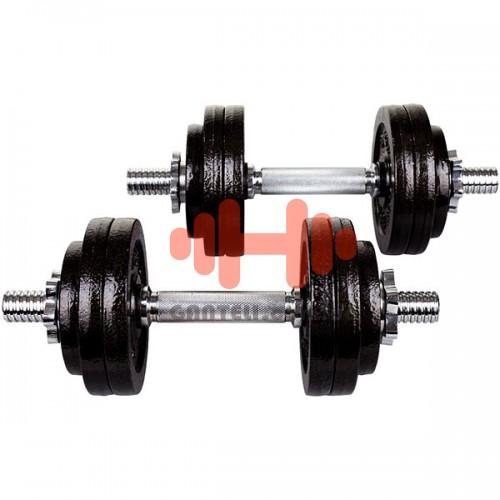 Гантель разборная Hop-Sport 2х15 кг, код: HD214