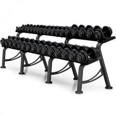 Гантельный ряд Marbo-Sport 6 пар (10-20 кг.), art: MP-SH4-36
