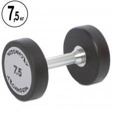 Гантель цельная профессиональная TechnoGym 1х7,5 кг, код: TG-1834-7_5