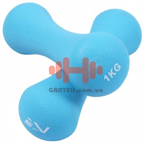 Гантели SportVida 2х1 кг, код: SV-HK0029
