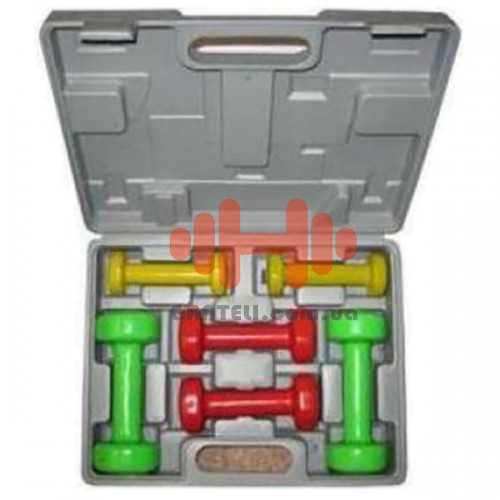 Набор гантелей HouseFit 6 кг. (6 шт.), код: BD306