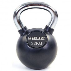 Гиря обрезиненная Zelart 32 кг., art: TA-5162-32