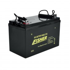 Гелевый аккумулятор Fisher 80Ah 12V, код: 80Ah