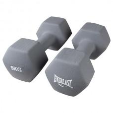 Гантели Everlast серый 2х9 кг, код: 80024/9-WS