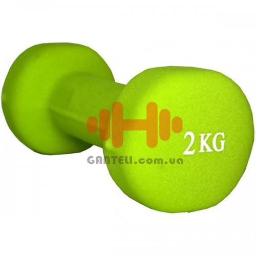 Гантель для фитнеса Fitex 2 кг, код: MD2015-2N