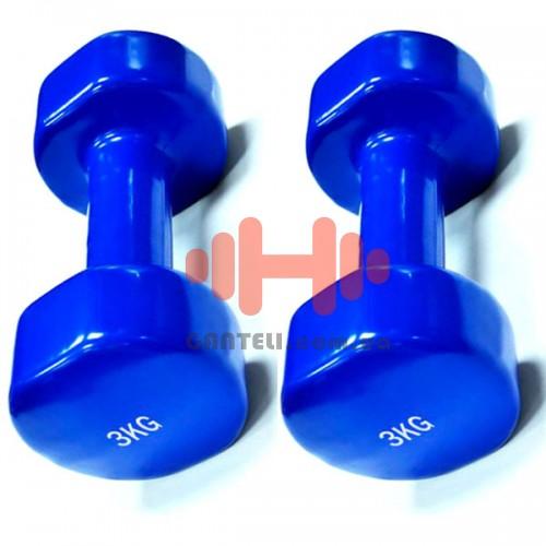 Гантель для фитнеса Rising 2х3 кг., код: DB2113-3