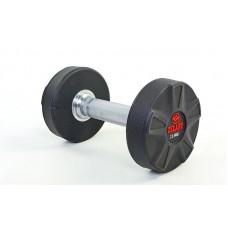 Гантель цельная профессиональная Zelart 1х25 кг, код: DB6112-25