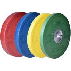 Комплект дисков Eleiko 140 кг (обрезиненный D=50 мм), код: 3001949-XX