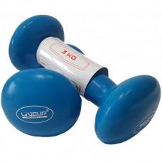 Гантели LiveUp 2х3 кг, код: LS2001-3