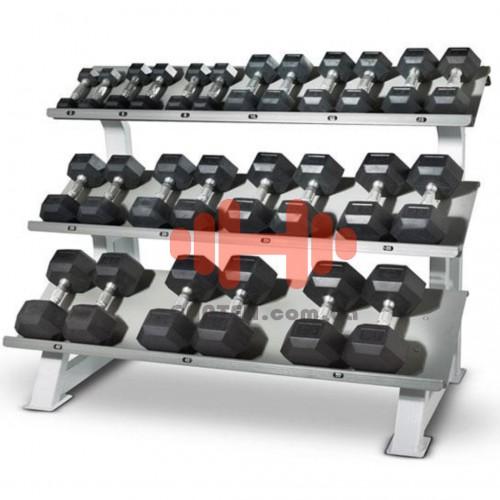 Гантельный ряд Alex 6 пар (10-20 кг.), art: D-05-30