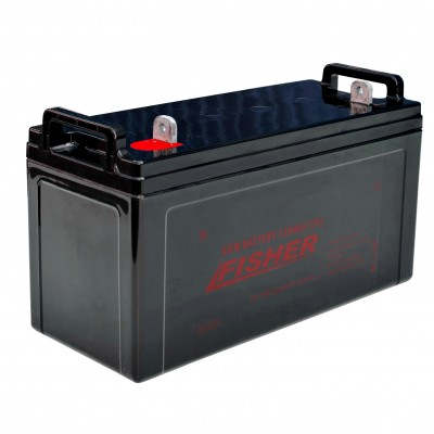 AGM аккумулятор Fisher 100Ah 12V, код: 100Ah agm