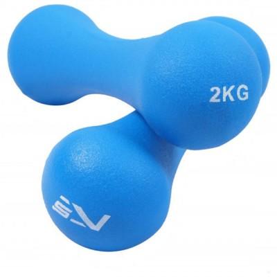 Гантелі SportVida 2х2 кг, код: SV-HK0031