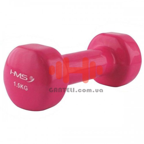 Гантель для фитнесса HMS 1,5 кг, код: 17023-15