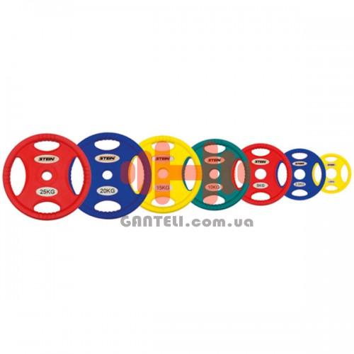 Комплект дисков Stein 105 кг (обрезиненные D=50 мм), код: DB6062