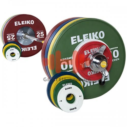Штанга Eleiko для соревнований по тяжелой атлетике женская 185 кг. (обрезиненая), код: 3001239F