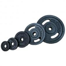 Комплект дисков Torneo 105 кг (металл D=30 мм), код: 1022-XXK