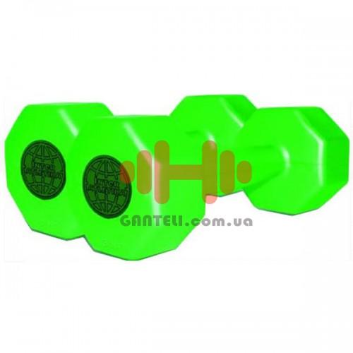 Гантель для фітнесу InterAtletika 2x3 кг, код: CT-560-3