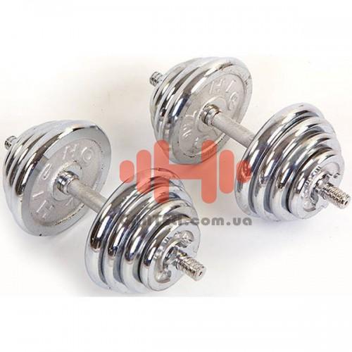 Гантели CrossGym 2х20 кг, код: TA-0032-40CH