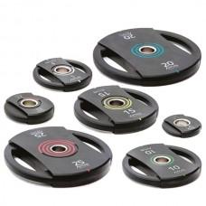 Комплект дисков Apus 105 кг (обрезиненные D=50 мм), код: AS-071