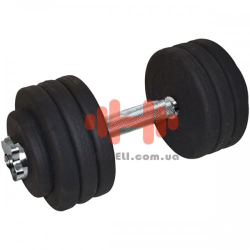 Гантель CrossGym 36,5 кг, код: A00319