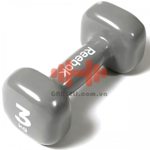 Гантель для фитнеса Reebok 3 кг, код: RAWT-11153