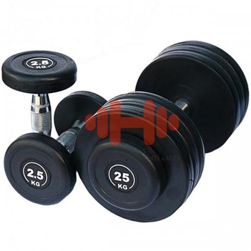 Гантельный ряд Alex 6 пар (10-20 кг.), art: FDS-09