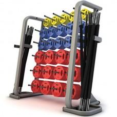 Стойка для аэробных штанг FitnesSport, код: DR-13