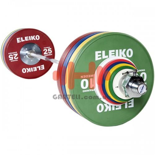 Штанга Eleiko тренировочная мужская 190 кг. (обрезиненая), код: 3001238
