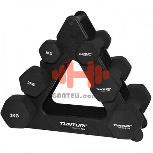 Набор гантелей для фитнесса Tunturi, код: 14TUSCL107