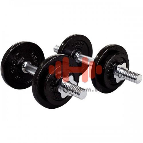 Гантель разборная Hop-Sport 2х10 кг, код: HD213