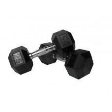 Гантель гексагональная TKO 27,5 кг, код: K804RX-27.5