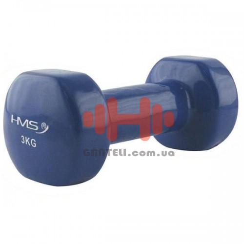 Гантель для фитнесса HMS 3,0 кг, код: 17023-30