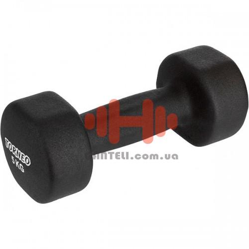 Гантель для фитнеса неопреновая Torneo 5 кг., код: A-985