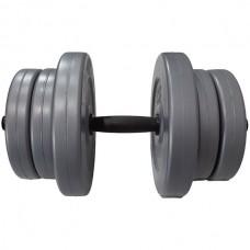 Гантель композитная USA Style 1х20 кг, код: SS-EK-2044-20
