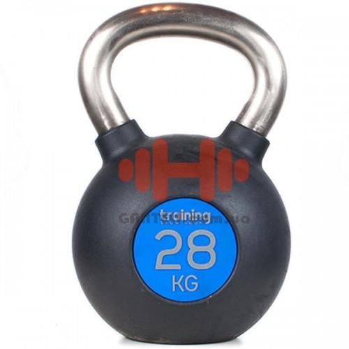 Гиря Training ShowRoom Gym Deluxe 28 кг, код: A04.03.006-28