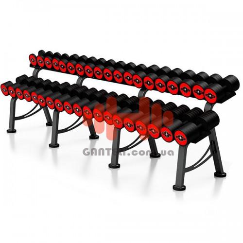 Гантельный ряд Marbo-Sport 6 пар (10-20 кг.), art: MP-HSGK5-L