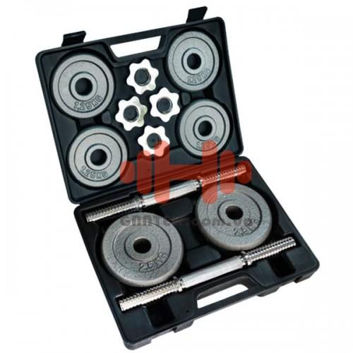 Гантели Fitlogic 2x10 кг., код: DB2509
