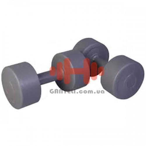 Гантели в пластиковой оболочке LiveUp 4 кг, код: LS2003-4