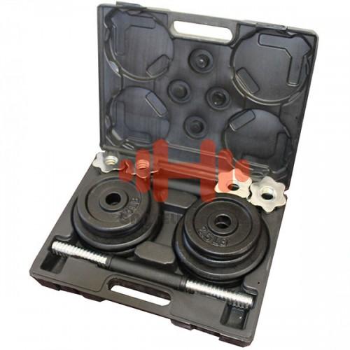 Гантели наборные USA Style 18 кг., код: SS-LDBS-213-D25