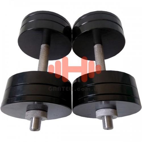 Гантель CrossGym 24 кг (пара), код: SG24