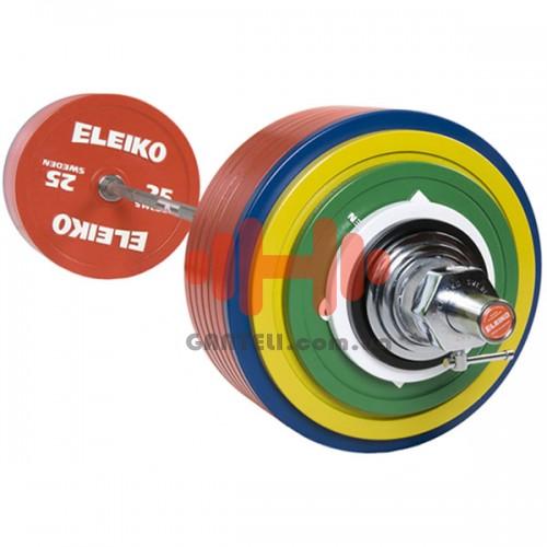 Штанга Eleiko для соревнований по пауэрлифтингу 435 кг. (железо), код: 3001364