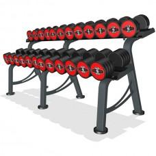 Гантельный ряд Marbo-Sport 6 пар (10-20 кг.), art: MP-HSGK5-M