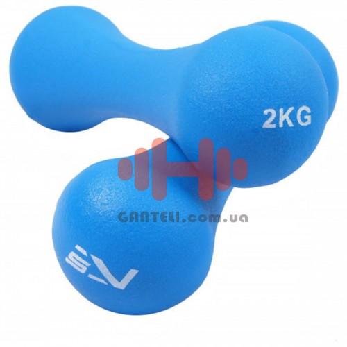 Гантели SportVida 2х2 кг, код: SV-HK0031