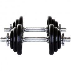 Гантель разборная Hop-Sport 2х10 кг, код: HD338