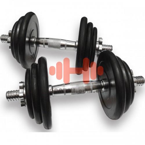 Гантели наборные Alex 2х15,5 кг, код: DB02-31